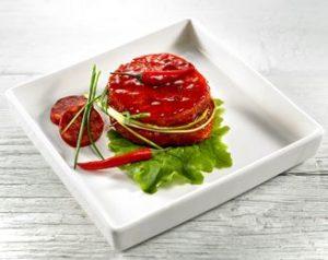 Recette avec marinade Chistora : Médaillon de filet de porc au chorizo