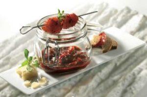 Marinade pesto : Recette Aiguillettes de poulet pesto rosso