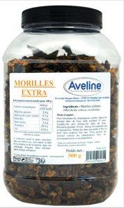 Morilles EXTRA deshydratee en pot pour restaurateur