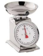 Balance de cuinisine métalique en inox