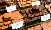 Étiquettes PVC blanches chocolatier