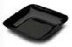 Mini assiette carré noire