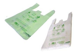 Sacs biodégradables liassés