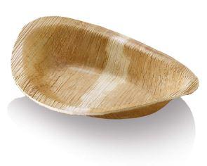 Assiette jetable palmier ovale