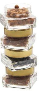 bocaux weck en verre carré très tendance