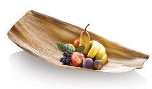 plat feuille de palmier