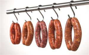 Saucisse chair et merguez