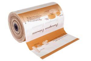 """Bobine  papier thermoscellable imprétion """" Fromagerie - Crémerie"""""""