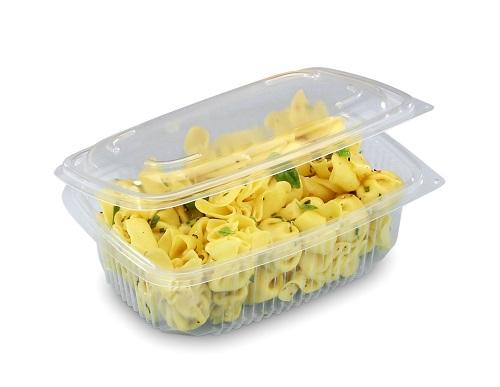 Emballage boite en plastique froide ou micro-ondables, pour charcutier, boucher, métier de bouche